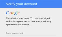 Google FRP Account bypass
