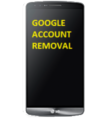 Remote LG Google Account removal